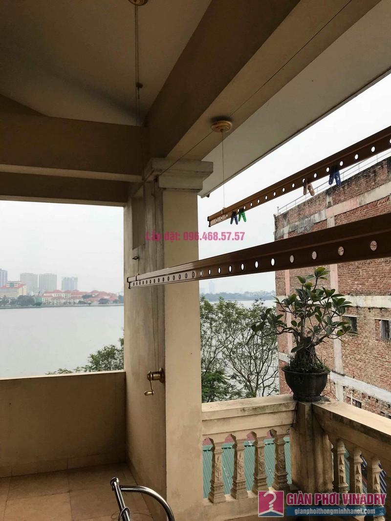 Sửa giàn phơi nhà anh Quân, ngõ 394 Lạc Long Quân, Tây Hồ, Hà Nội - 08