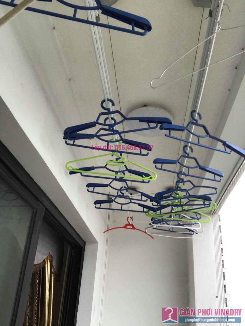 Sửa giàn phơi quần áo nhà chị Nhung, Tòa T5 Times City- 01