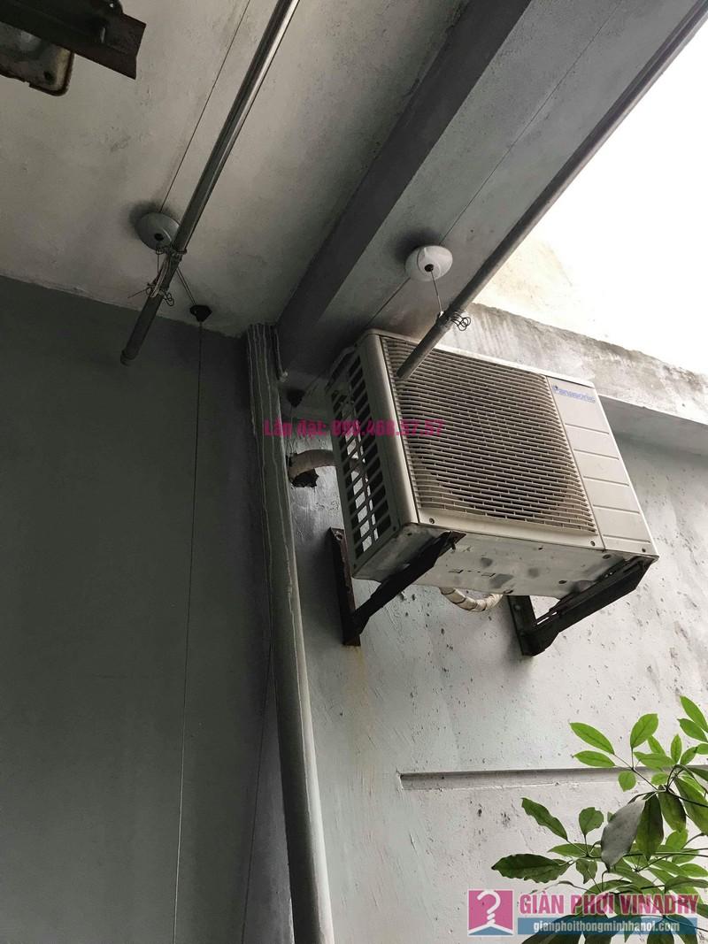 Sửa giàn phơi thông minh nhà chị Mai, chung cư CT1 Trung Văn, Nam Từ Liêm, Hà Nội - 01