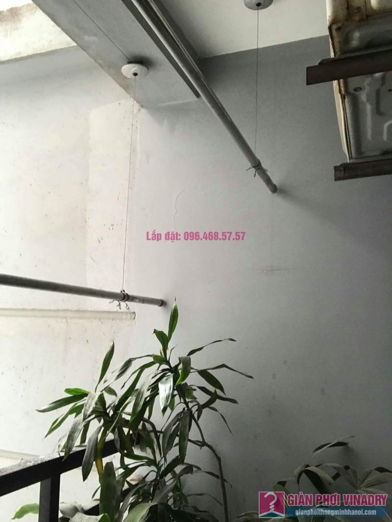 Sửa giàn phơi thông minh nhà chị Mai, chung cư CT1 Trung Văn, Nam Từ Liêm, Hà Nội - 02