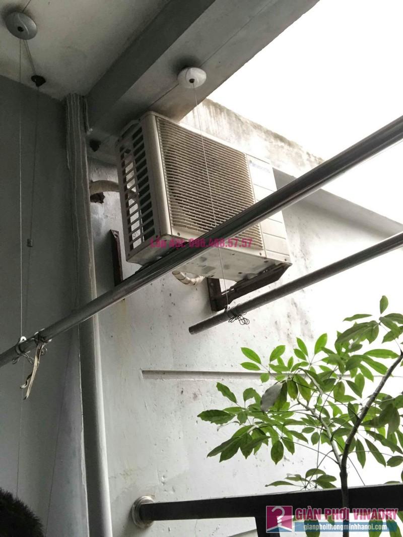 Sửa giàn phơi thông minh nhà chị Mai, chung cư CT1 Trung Văn, Nam Từ Liêm, Hà Nội - 03