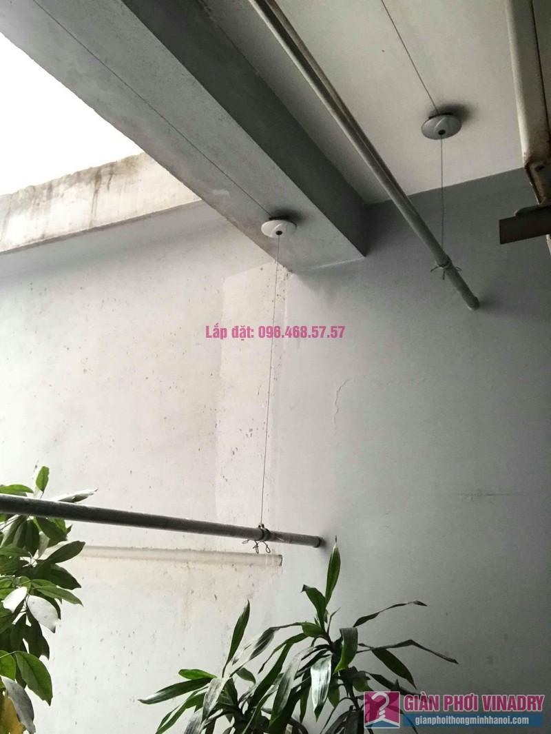 Sửa giàn phơi thông minh nhà chị Mai, chung cư CT1 Trung Văn, Nam Từ Liêm, Hà Nội - 04