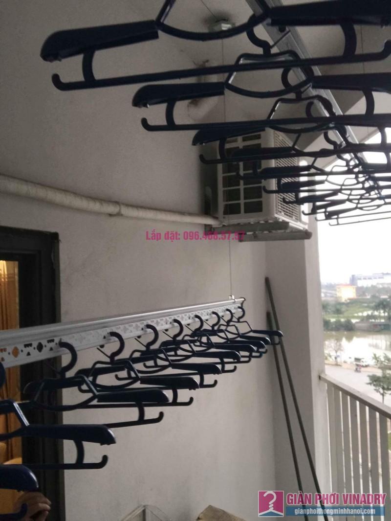 Lắp giàn phơi Hòa Phát Star nhà chị Nhiên, chung cư Green House Việt Hưng, Long Biên, Hà Nội - 04