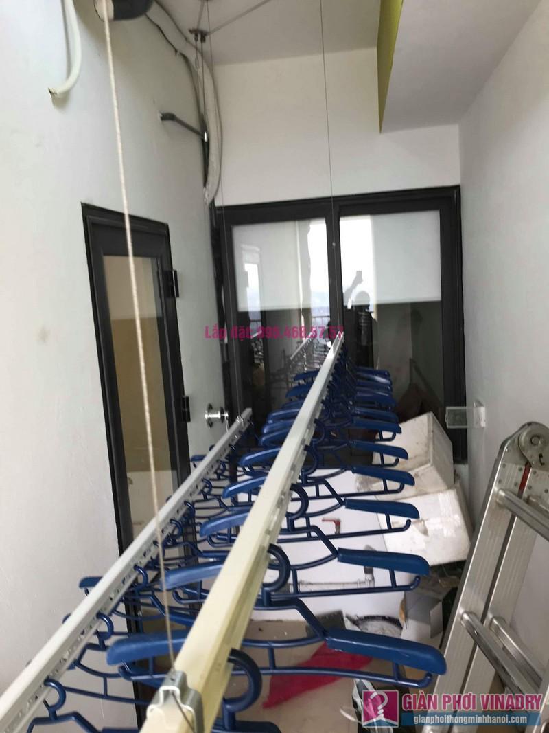 Lắp giàn phơi Hoàng Mai nhà chị Nam, chung cư Đồng Phát Park View Tower - 04