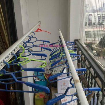 Sửa giàn phơi quần áo nhà chị Nhung, Tòa T5 Times City