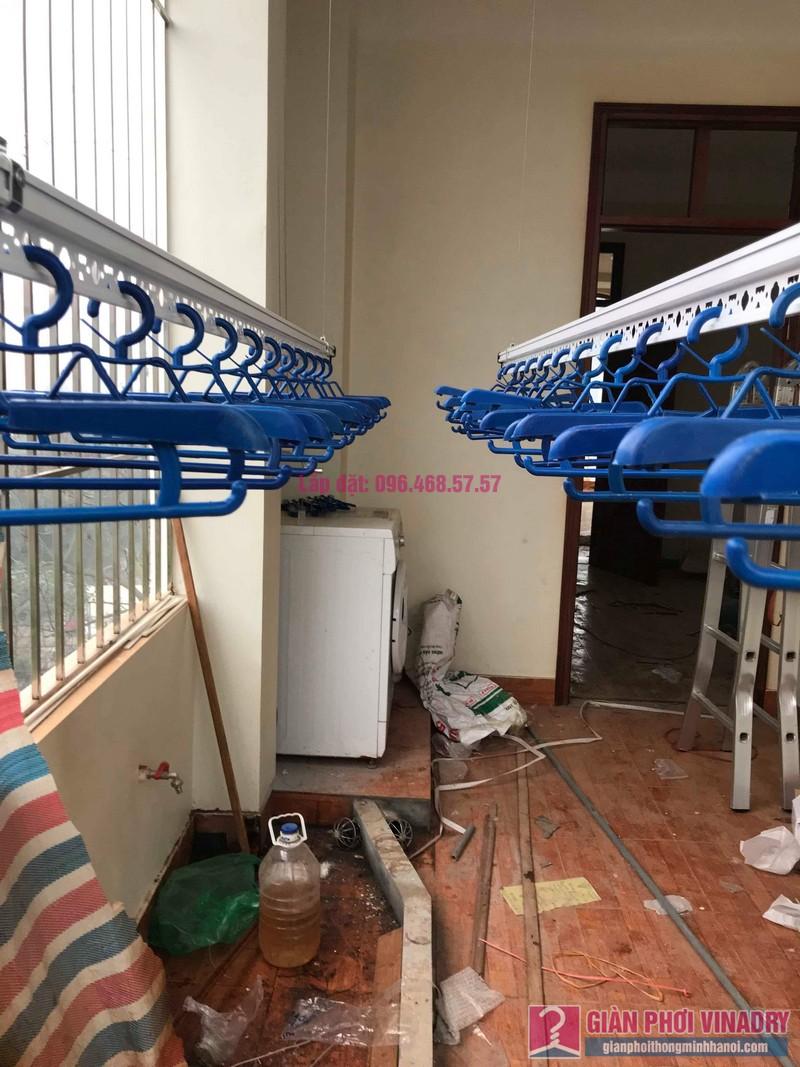 Lắp giàn phơi Hòa Phát Air nhà chị Tươi, ngõ 247 Ngô Xuân Quảng, Trâu Qùy, Gia Lâm, Hà Nội - 05