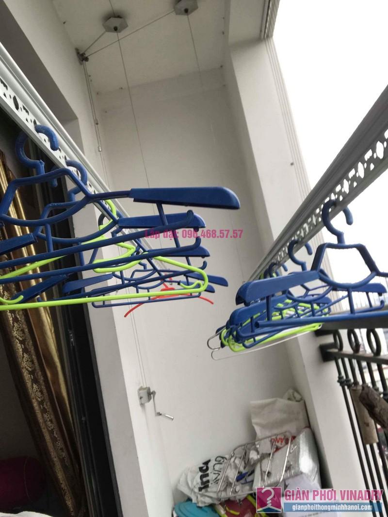 Sửa giàn phơi quần áo nhà chị Nhung, Tòa T5 Times City- 06