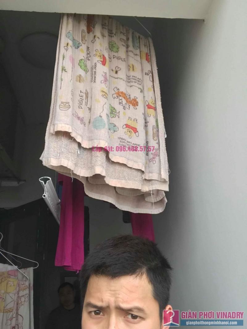 Sửa giàn phơi thông minh 999B nhà anh Tài, chung cư Green Star, Bắc Từ Liêm, Hà Nội - 06