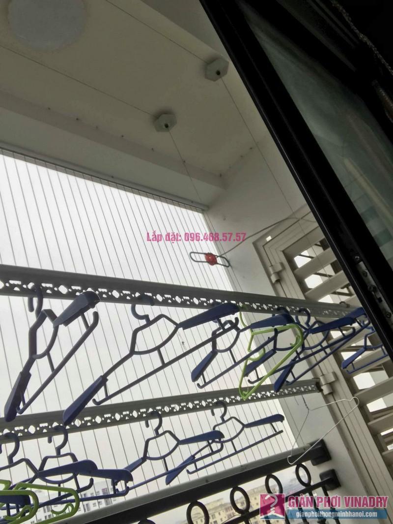Sửa giàn phơi quần áo nhà chị Nhung, Tòa T5 Times City- 07