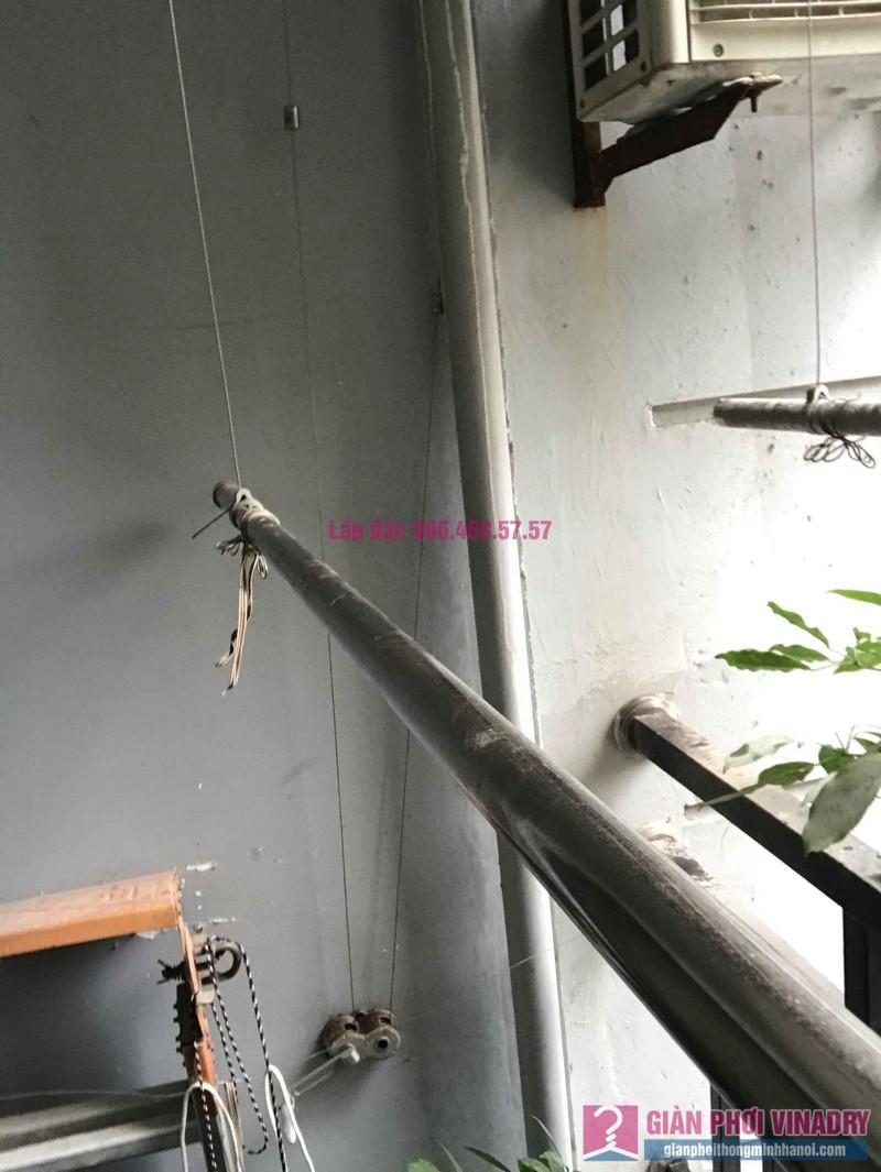 Sửa giàn phơi thông minh nhà chị Mai, chung cư CT1 Trung Văn, Nam Từ Liêm, Hà Nội - 07