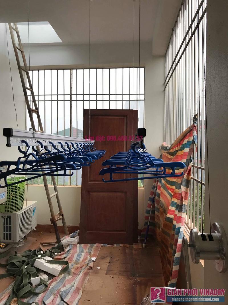 Lắp giàn phơi Hòa Phát Air nhà chị Tươi, ngõ 247 Ngô Xuân Quảng, Trâu Qùy, Gia Lâm, Hà Nội - 07