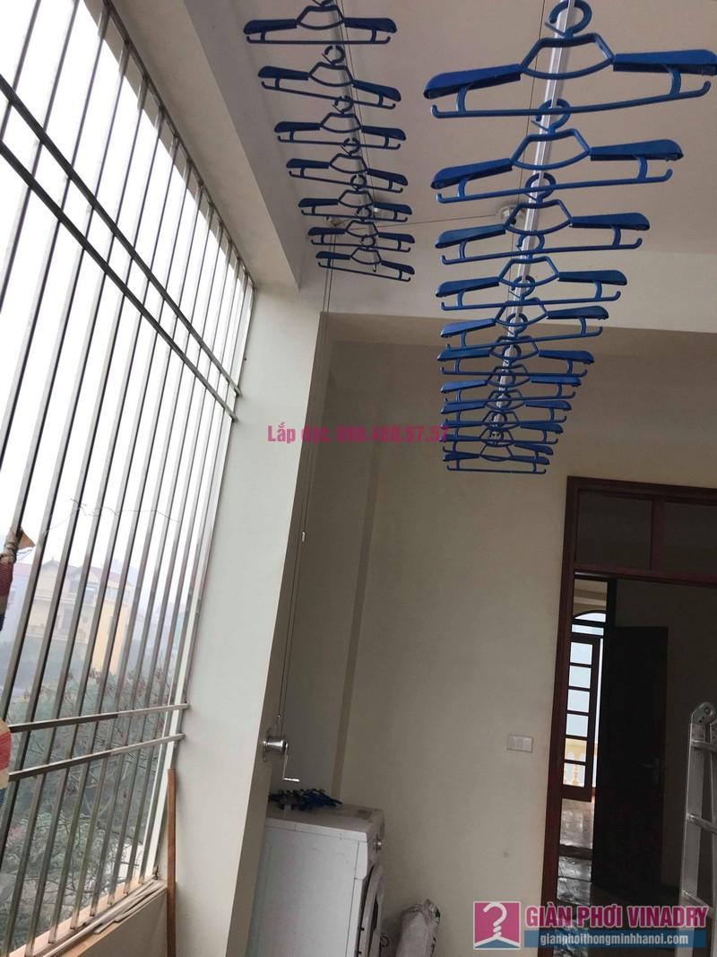 Lắp giàn phơi Hòa Phát Air nhà chị Tươi, ngõ 247 Ngô Xuân Quảng, Trâu Qùy, Gia Lâm, Hà Nội - 09