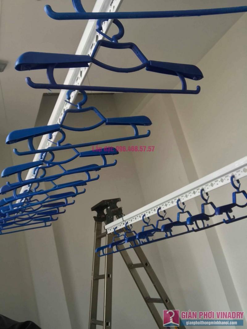 Lắp giàn phơi quần áo nhà chị Hải, ngõ 178 Thái Hà, Đống Đa, Hà Nội - 09