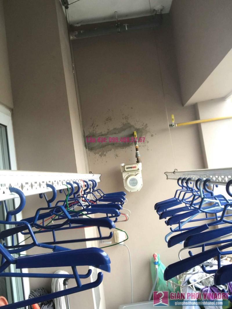 Sửa chữa giàn phơi thông minh nhà chị Tình, Tòa GH5 Green House, Long Biên, Hà Nội - 01