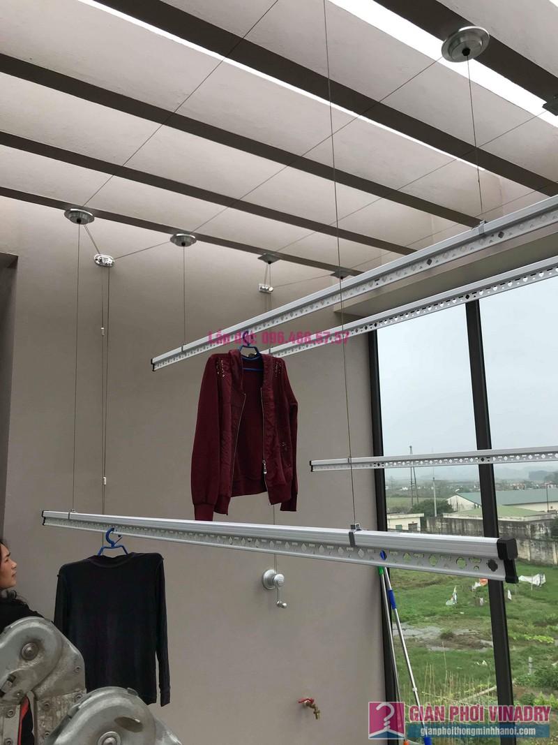 Lắp 2 bộ giàn phơi quần áo nhà chị Thanh, Tổ 9, TT Sóc Sơn, Sóc Sơn, Hà Nội - 01