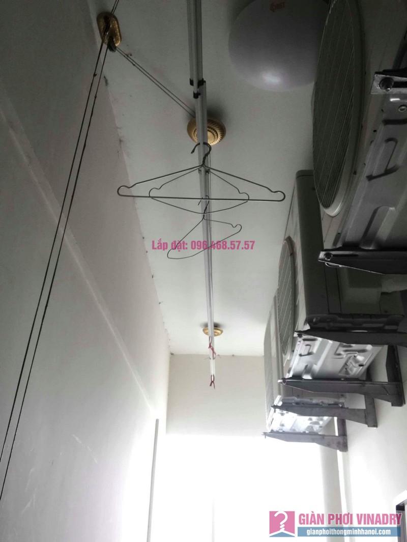 Sửa giàn phơi quần áo nhà chị Thiện, chung cư Green Star, Phạm Văn Đồng, Hà Nôi - 01
