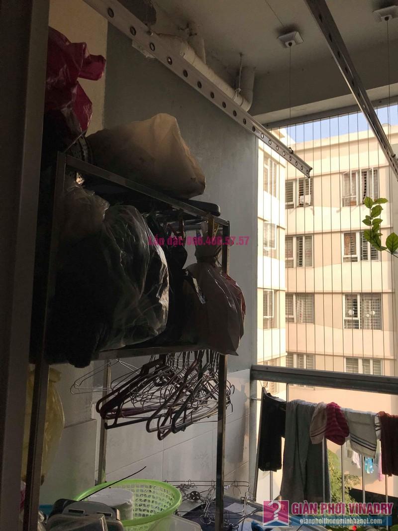 Sửa giàn phơi giá rẻ nhà anh Đồng, chung cư CT17 Green House, KĐT Việt Hưng, Long Biên, Hà Nội - 01