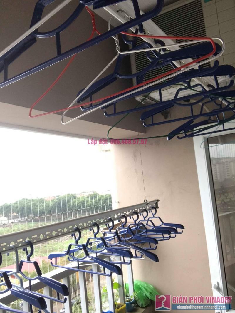 Sửa chữa giàn phơi thông minh nhà chị Tình, Tòa GH5 Green House, Long Biên, Hà Nội - 02