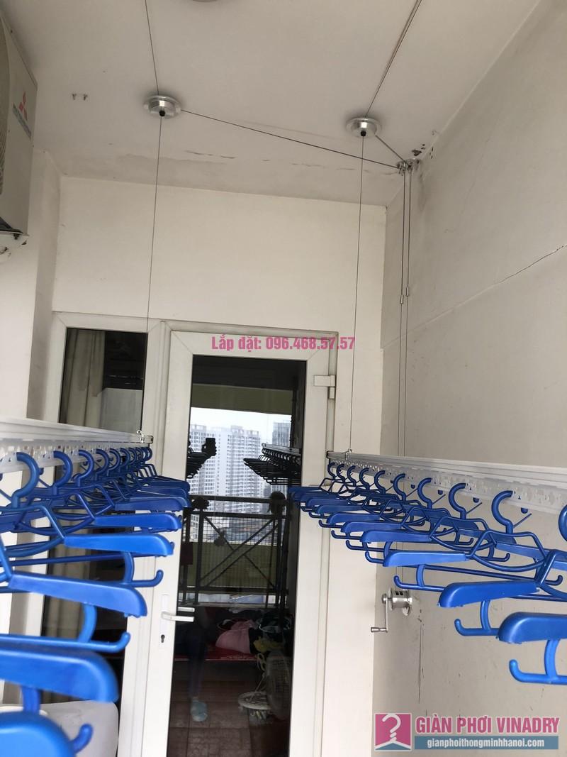 Lắp giàn phơi Cầu Giấy, nhà chị Lụa, căn 2807, Tòa 29T2, KĐT Trung Hòa Nhân Chính - 02