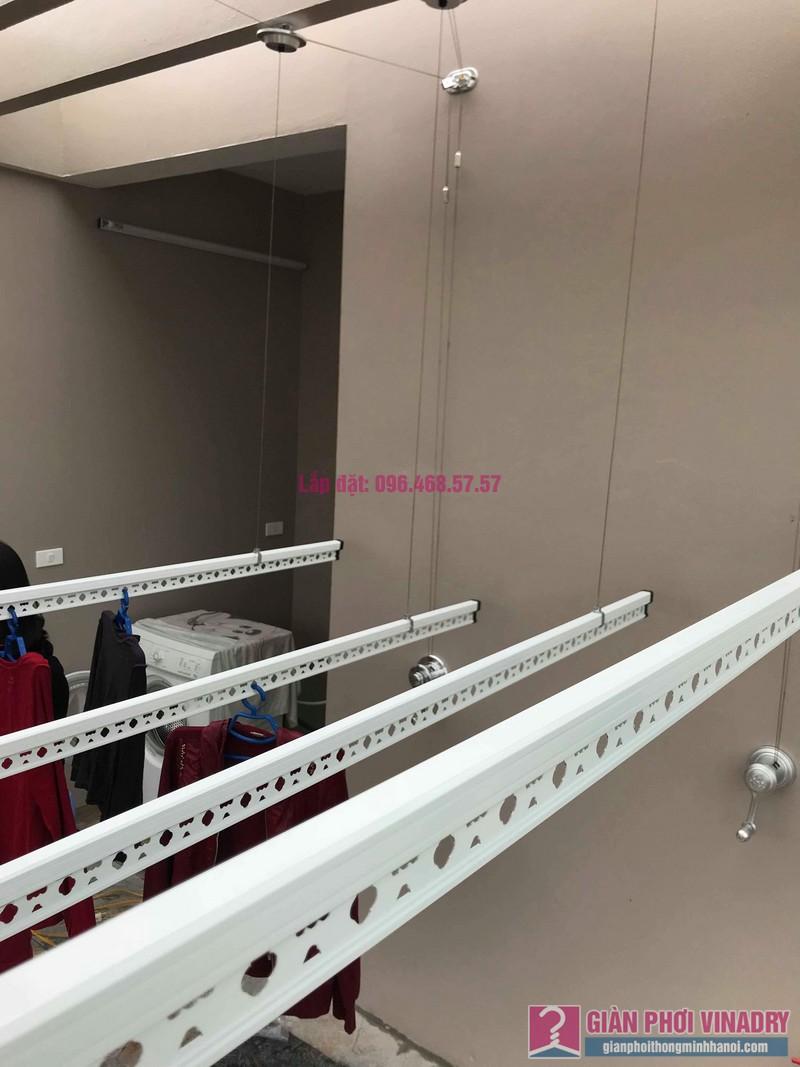Lắp 2 bộ giàn phơi quần áo nhà chị Thanh, Tổ 9, TT Sóc Sơn, Sóc Sơn, Hà Nội - 03