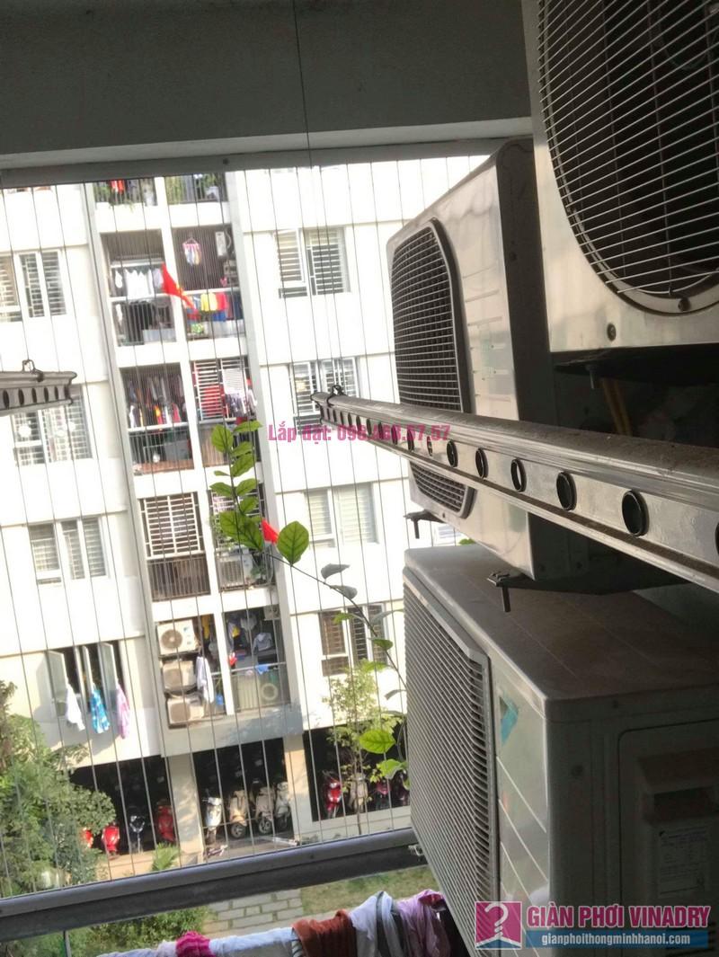 Sửa giàn phơi giá rẻ nhà anh Đồng, chung cư CT17 Green House, KĐT Việt Hưng, Long Biên, Hà Nội - 03