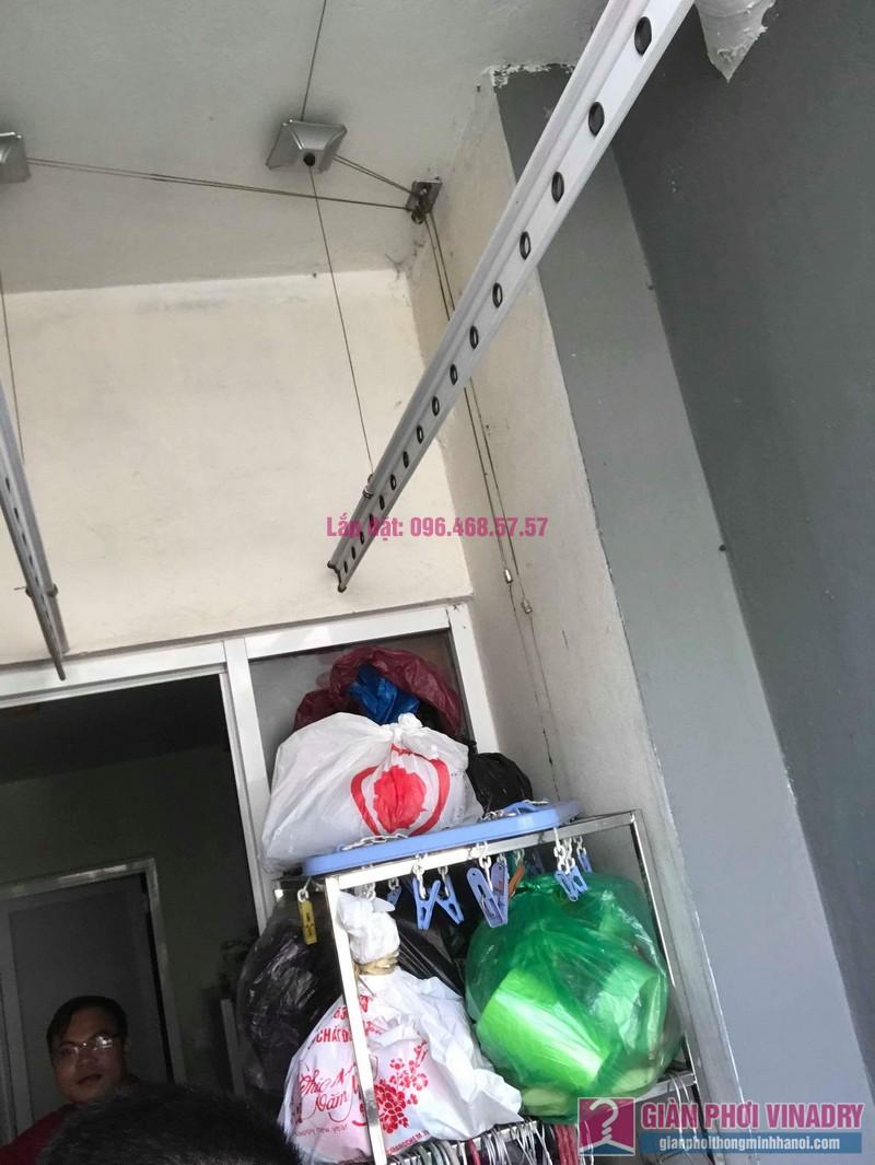Sửa giàn phơi giá rẻ nhà anh Đồng, chung cư CT17 Green House, KĐT Việt Hưng, Long Biên, Hà Nội - 04