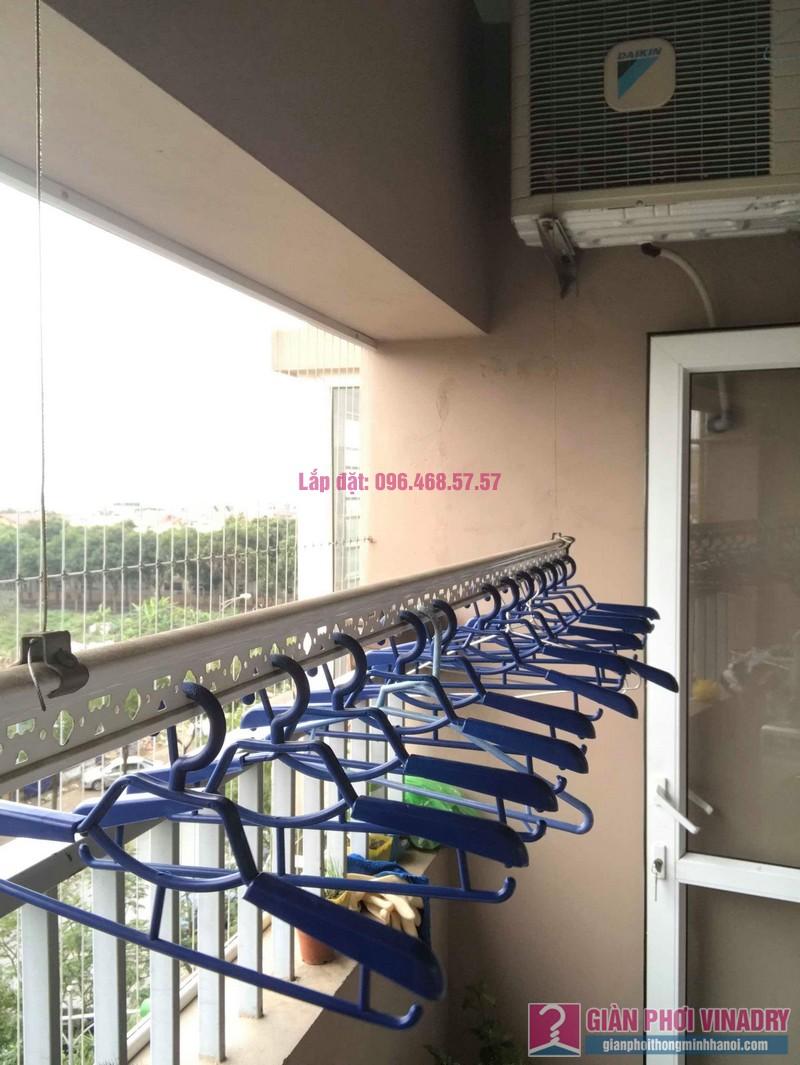 Sửa chữa giàn phơi thông minh nhà chị Tình, Tòa GH5 Green House, Long Biên, Hà Nội - 05