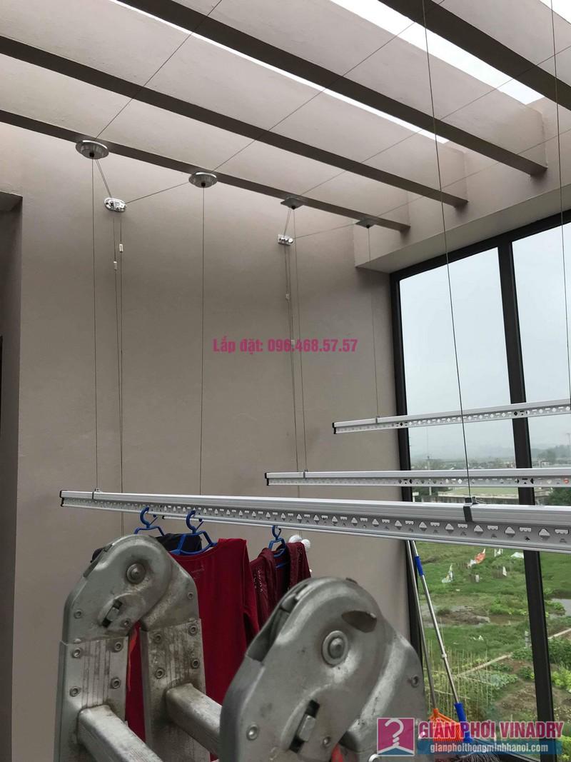 Lắp 2 bộ giàn phơi quần áo nhà chị Thanh, Tổ 9, TT Sóc Sơn, Sóc Sơn, Hà Nội - 05