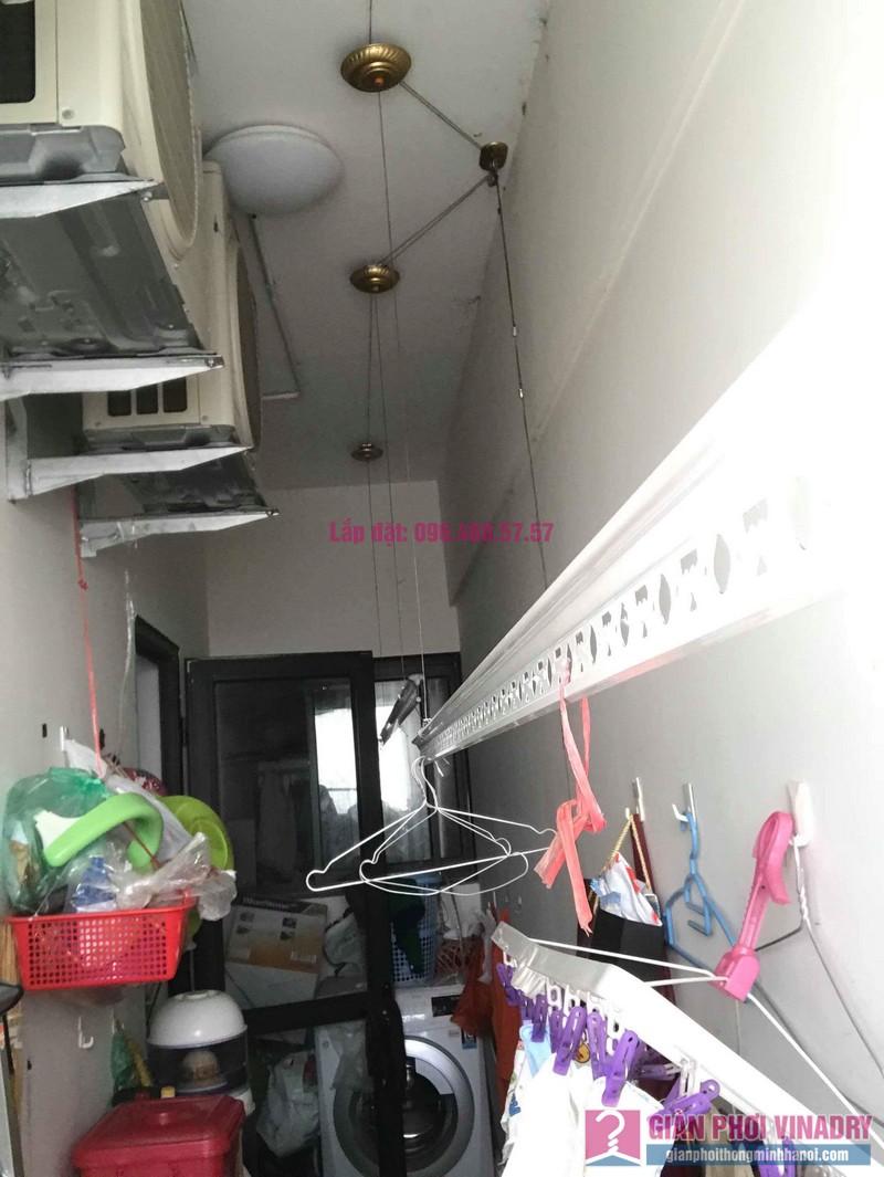 Sửa giàn phơi quần áo nhà chị Thiện, chung cư Green Star, Phạm Văn Đồng, Hà Nôi - 05