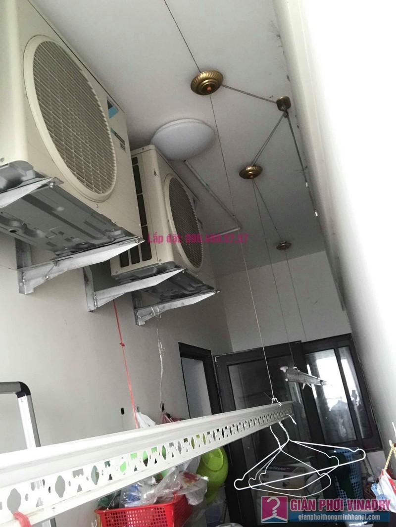 Sửa giàn phơi quần áo nhà chị Thiện, chung cư Green Star, Phạm Văn Đồng, Hà Nôi - 06