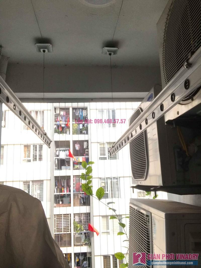 Sửa giàn phơi giá rẻ nhà anh Đồng, chung cư CT17 Green House, KĐT Việt Hưng, Long Biên, Hà Nội - 06