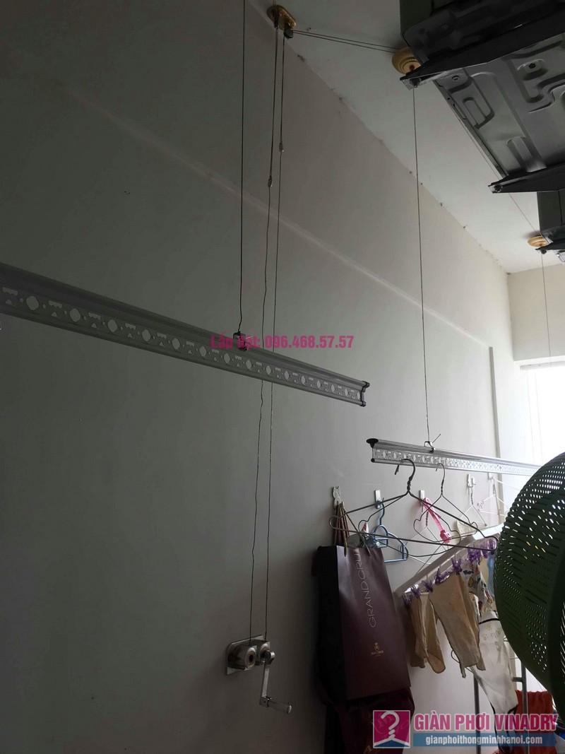 Sửa giàn phơi quần áo nhà chị Thiện, chung cư Green Star, Phạm Văn Đồng, Hà Nôi - 07