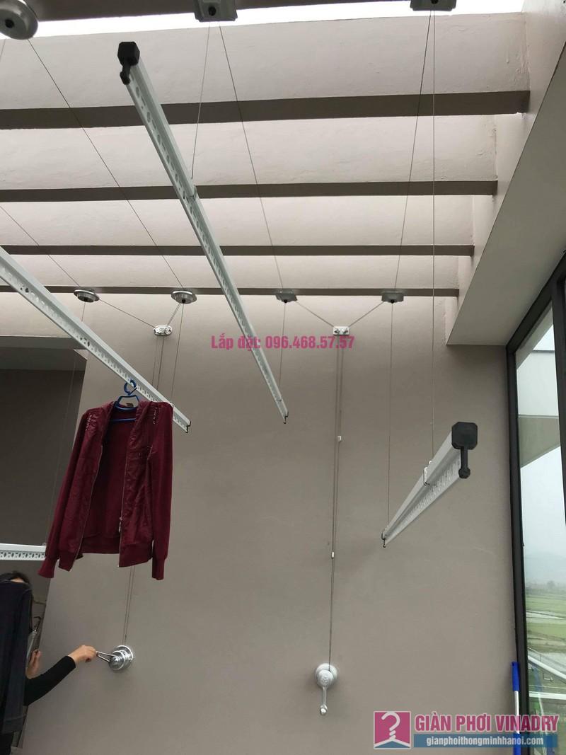 Lắp 2 bộ giàn phơi quần áo nhà chị Thanh, Tổ 9, TT Sóc Sơn, Sóc Sơn, Hà Nội - 08
