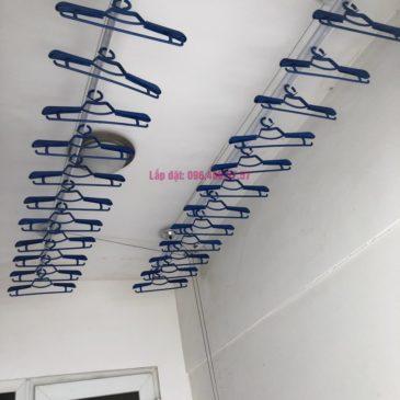 Lắp giàn phơi Cầu Giấy nhà chị Lụa, căn 2807, Tòa 29T2, KĐT Trung Hòa Nhân Chính
