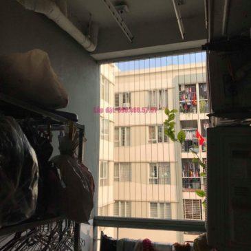 Sửa giàn phơi giá rẻ nhà anh Đồng, chung cư CT17 Green House, KĐT Việt Hưng, Long Biên, Hà Nội