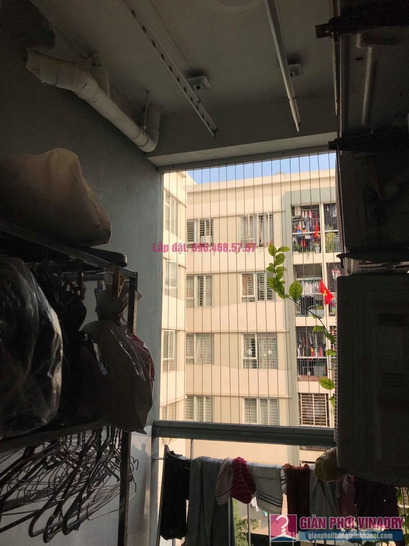 Sửa giàn phơi giá rẻ nhà anh Đồng, chung cư CT17 Green House, KĐT Việt Hưng, Long Biên, Hà Nội - 08