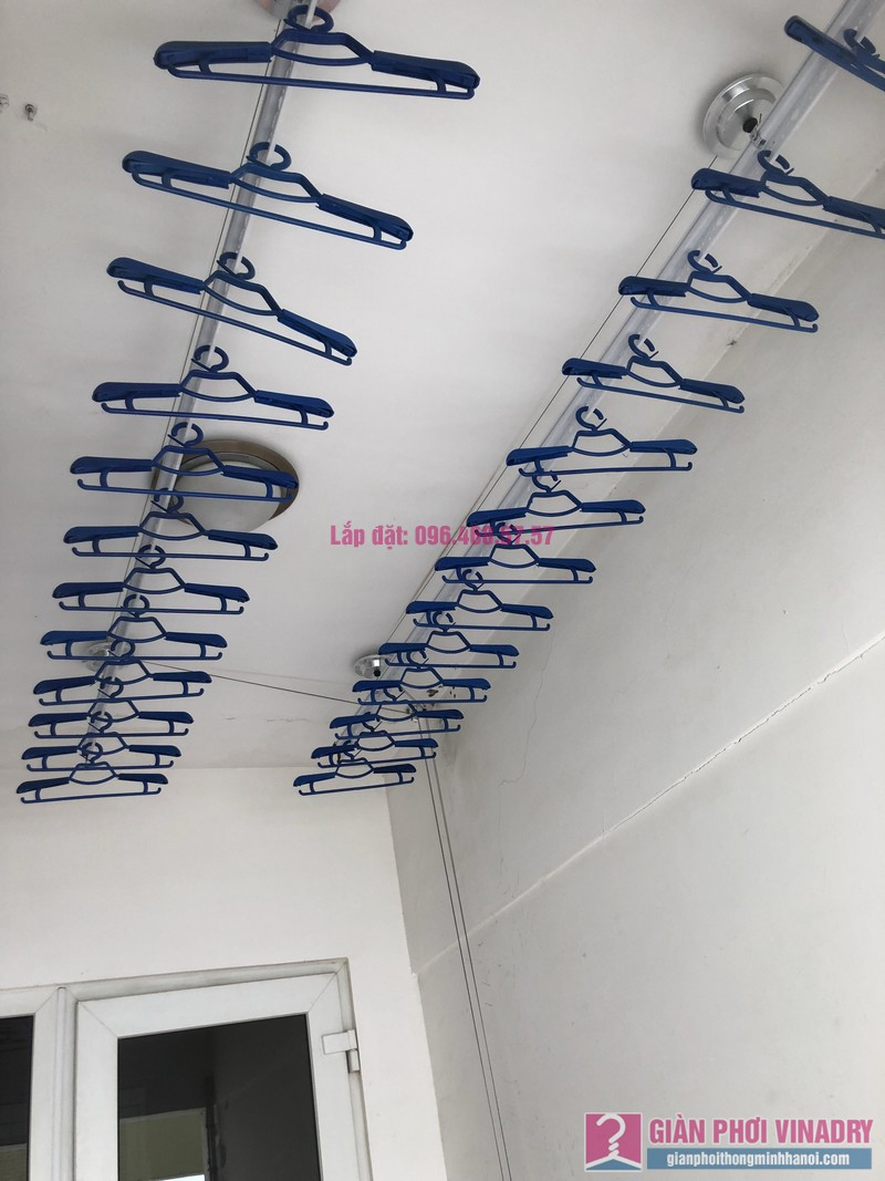 Lắp giàn phơi Cầu Giấy, nhà chị Lụa, căn 2807, Tòa 29T2, KĐT Trung Hòa Nhân Chính - 08