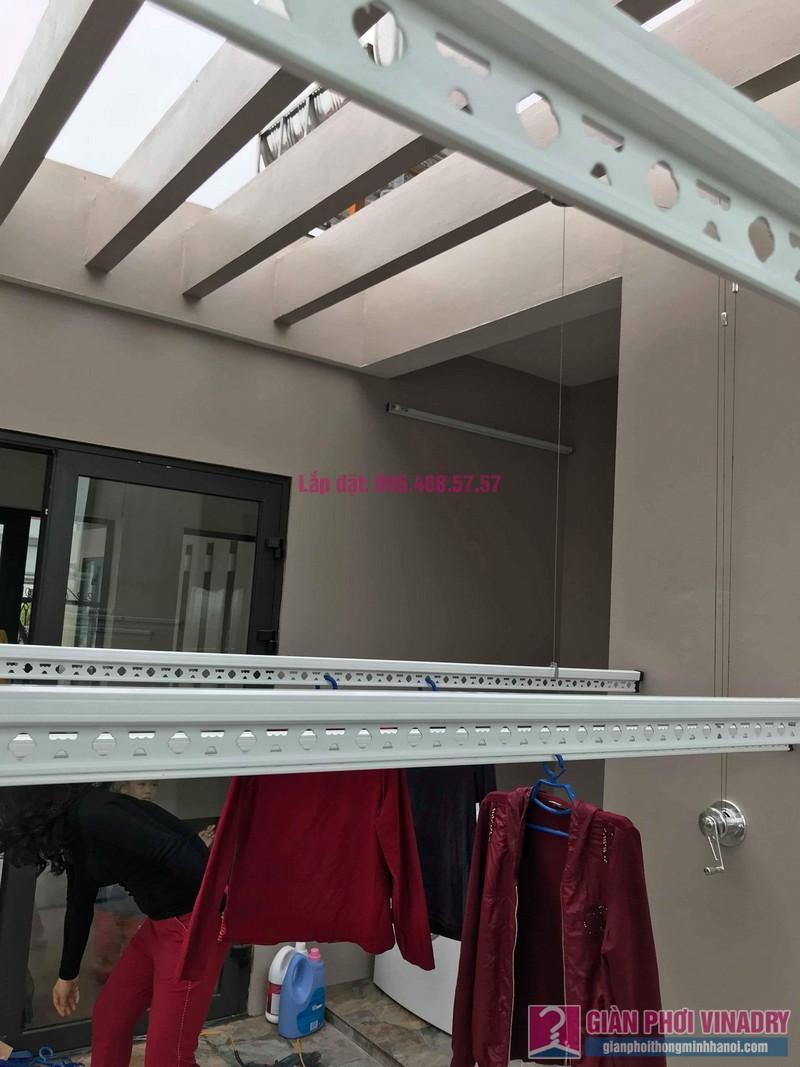 Lắp 2 bộ giàn phơi quần áo nhà chị Thanh, Tổ 9, TT Sóc Sơn, Sóc Sơn, Hà Nội - 09