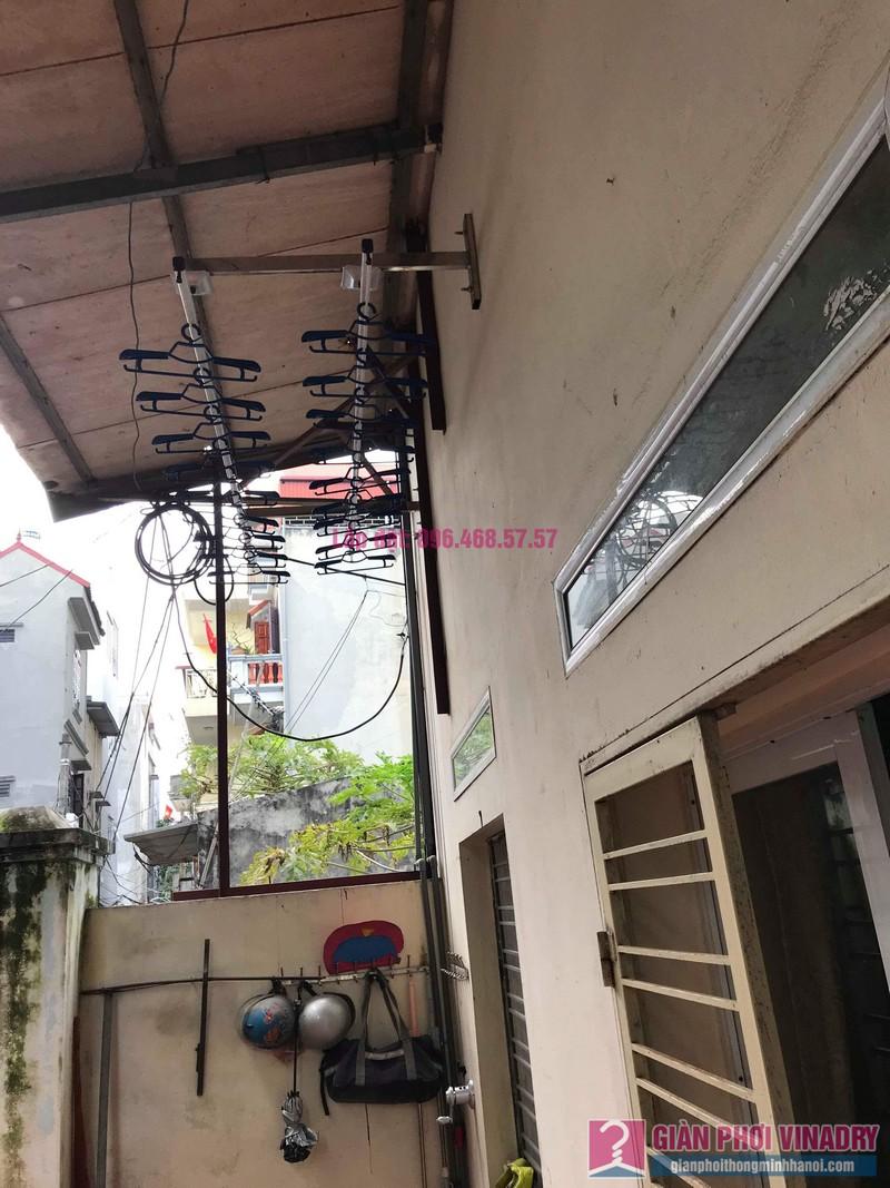 Lắp giàn phơi cho trần mái tôn nhà anh Dũng, Khu TT đường sắt Hà Thái, Đông Anh, Hà Nội - 10
