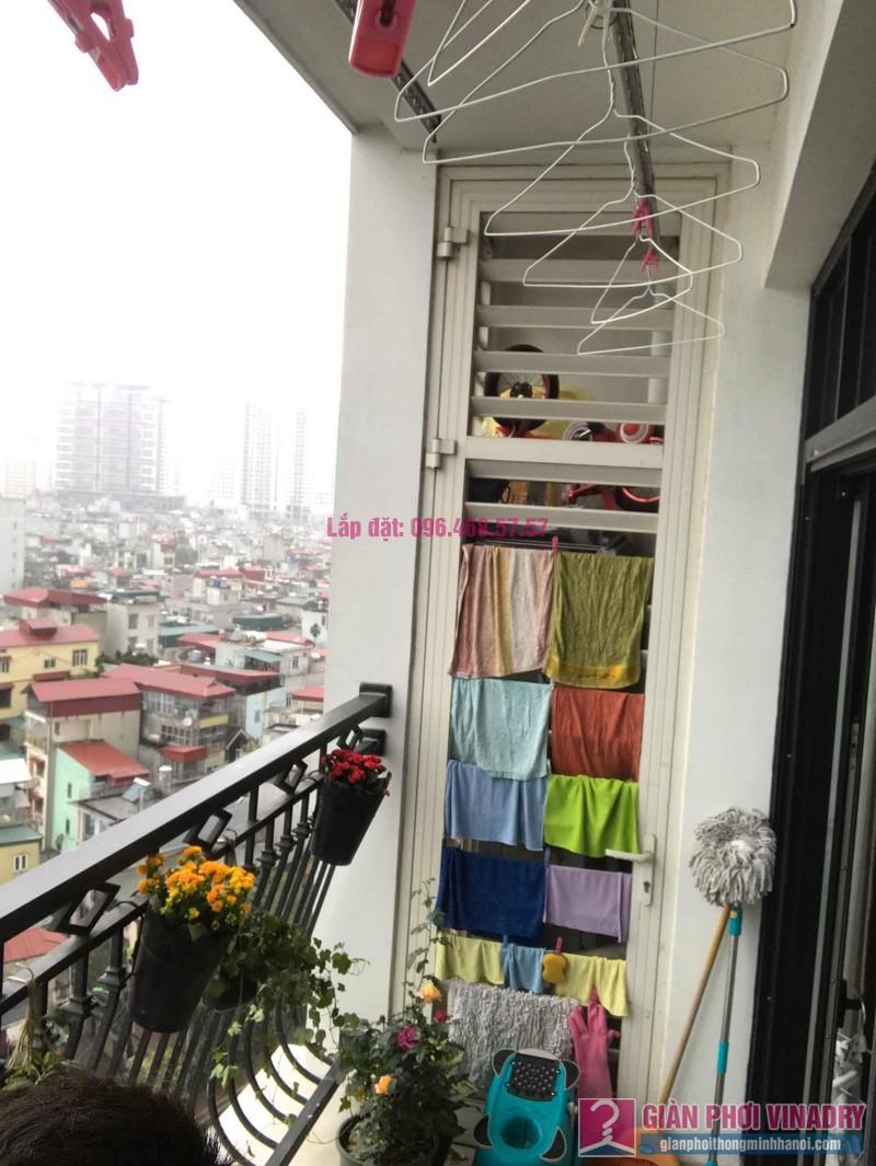 Sửa giàn phơi quần áo nhà chị Hoa, tòa R3, Royal City, Thanh Xuân, Hà Nội - 01