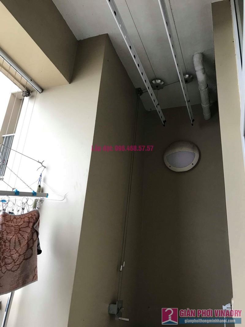 Thay dây giàn phơi thông minh nhà anh Bảo, chung cư Dream Town, Coma6 Tây Mỗ, Nam Từ Liêm, Hà Nội - 01