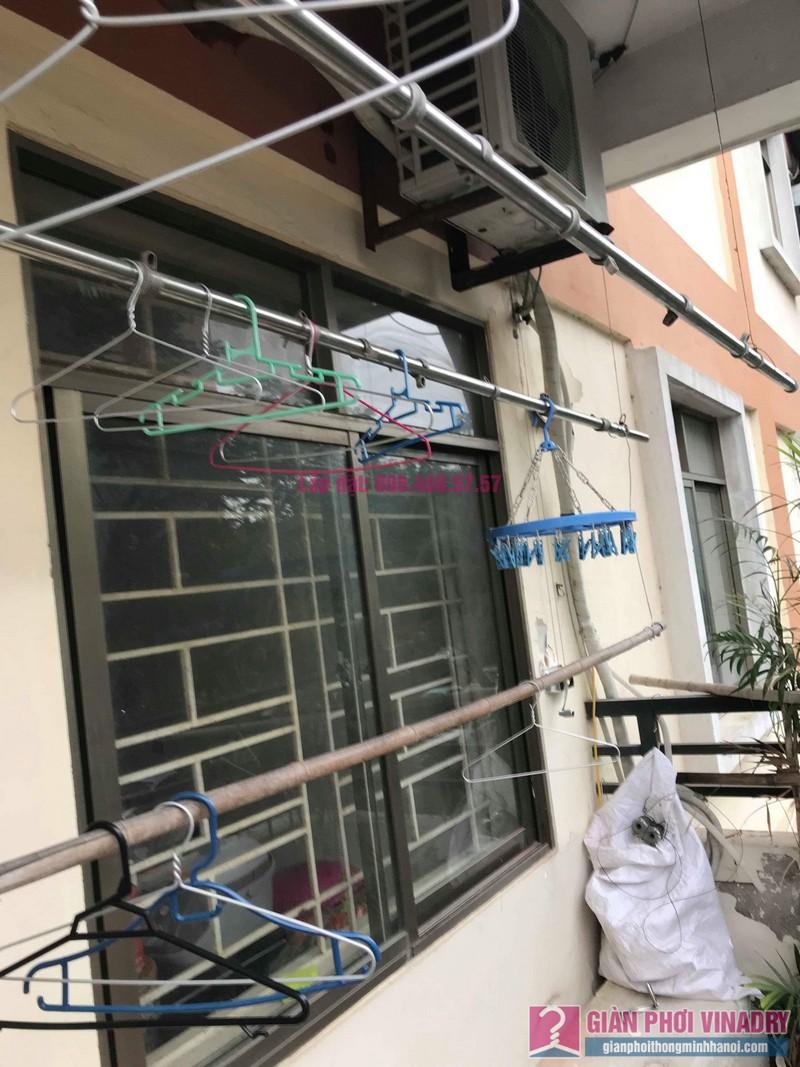 Sửa giàn phơi giá rẻ nhà chị Tình, Tòa P2, KĐT Việt Hưng, Long Biên, Hà Nội - 02