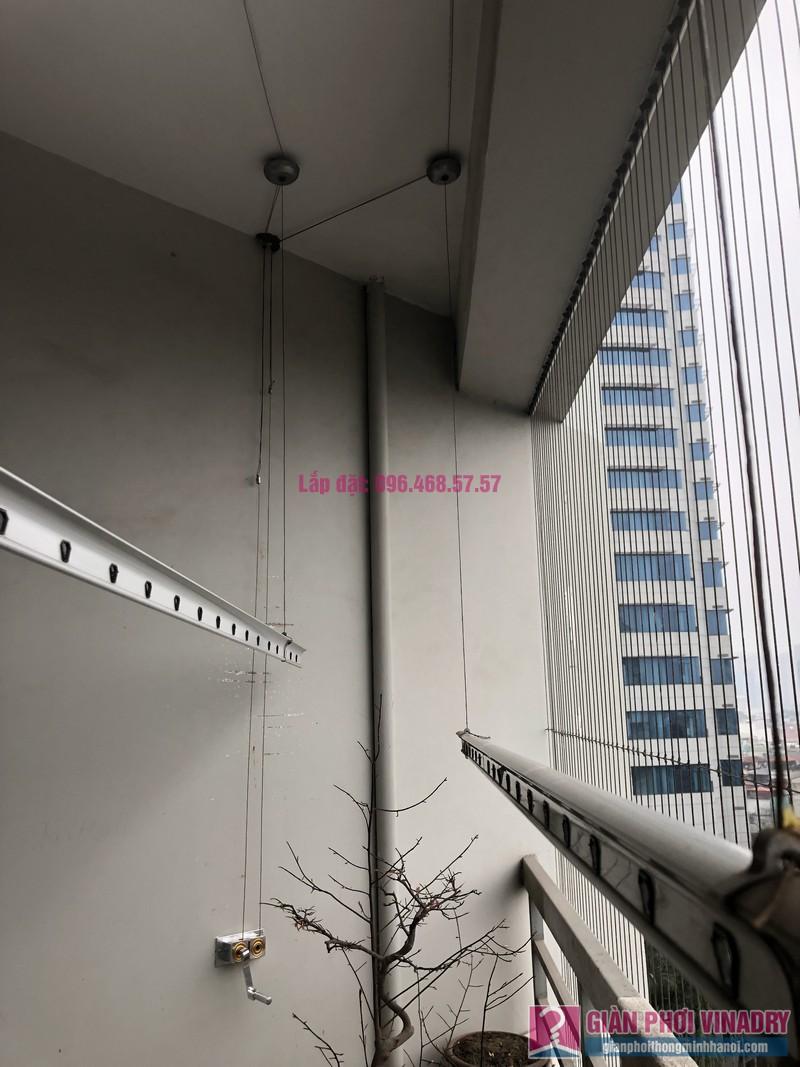 Sửa giàn phơi thông minh Đống Đa, nhà chị Mùi, chung cư M3 - M4 Nguyễn Chí Thanh - 02