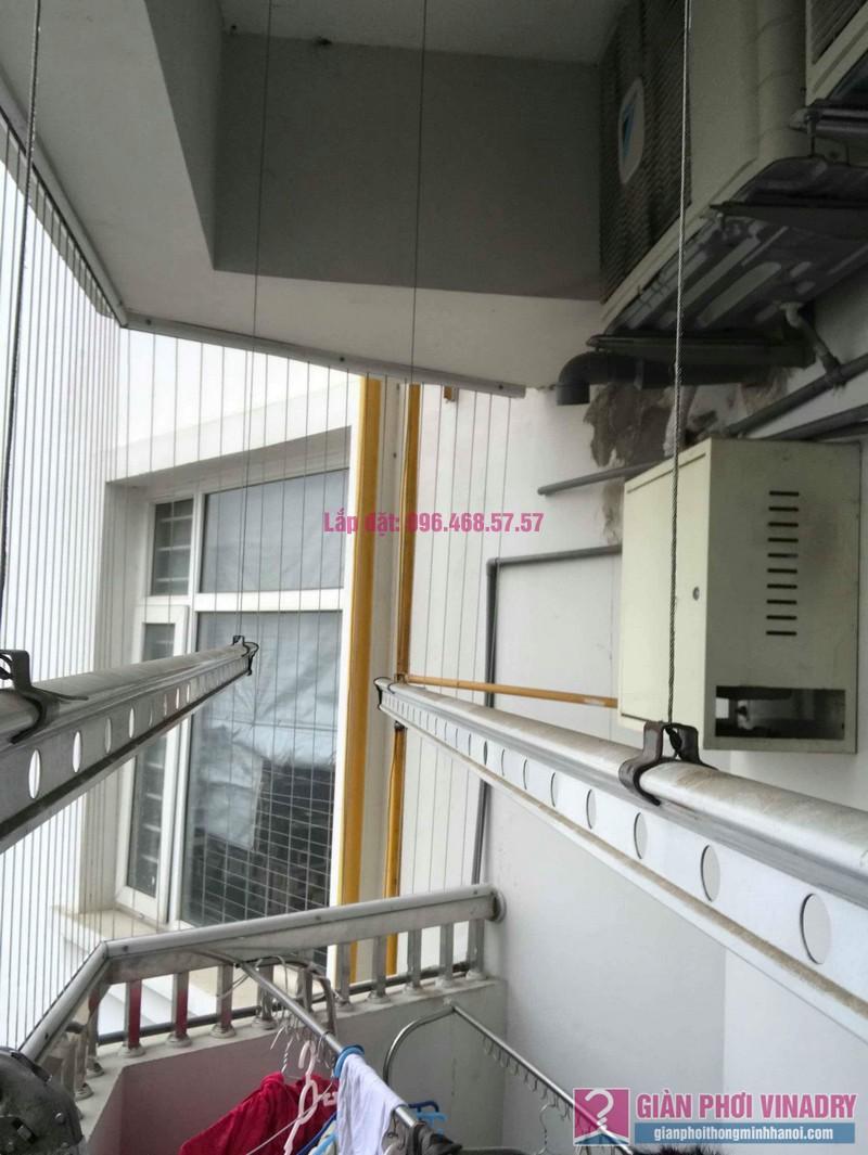Sửa giàn phơi quần áo nhà chị Nhu, chung cư CT3C Cổ Nhuế, Nam Từ Liêm, Hà Nội - 02