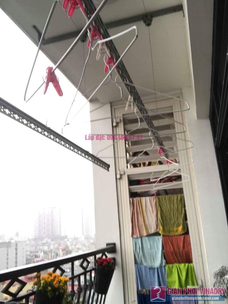 Sửa giàn phơi quần áo nhà chị Hoa, tòa R3, Royal City, Thanh Xuân, Hà Nội - 03
