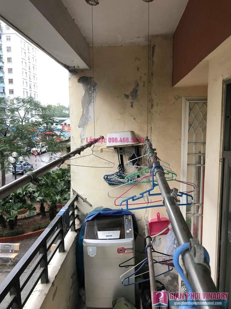 Sửa giàn phơi giá rẻ nhà chị Tình, Tòa P2, KĐT Việt Hưng, Long Biên, Hà Nội - 03