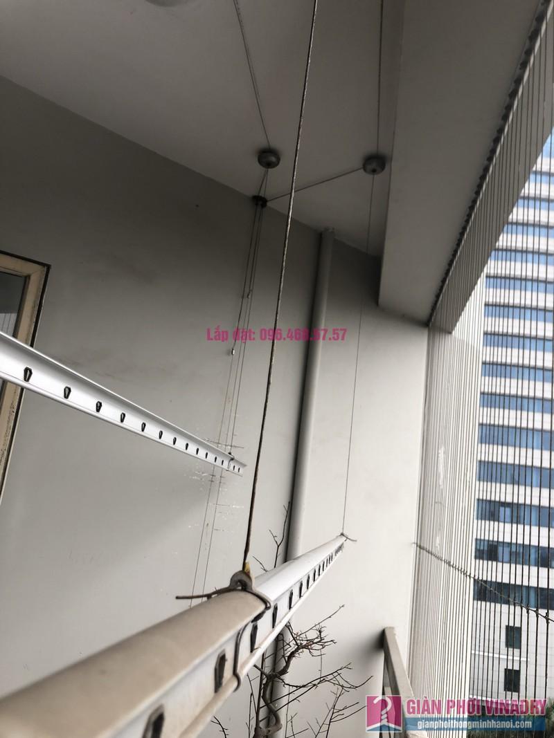 Sửa giàn phơi thông minh Đống Đa, nhà chị Mùi, chung cư M3 - M4 Nguyễn Chí Thanh - 03