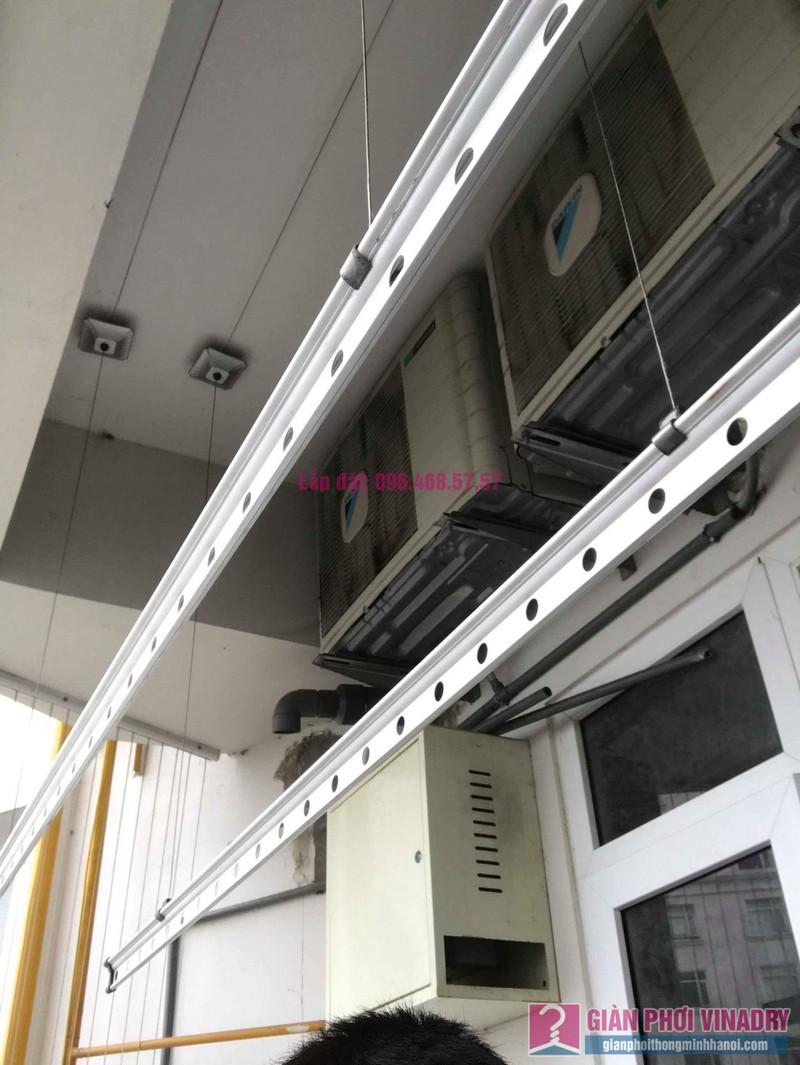 Sửa giàn phơi quần áo nhà chị Nhu, chung cư CT3C Cổ Nhuế, Nam Từ Liêm, Hà Nội - 03
