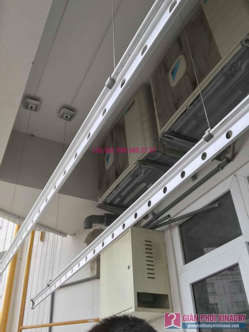 Sửa giàn phơi quần áo nhà chị Nhu, chung cư CT3C Cổ Nhuế, Nam Từ Liêm, Hà Nội - 04