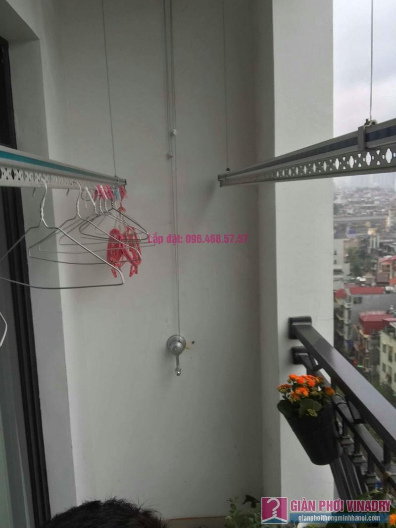Sửa giàn phơi quần áo nhà chị Hoa, tòa R3, Royal City, Thanh Xuân, Hà Nội - 05